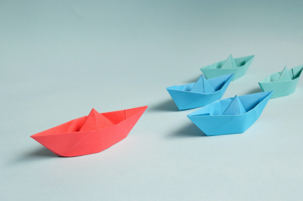 paper boats on solid surface 194094
